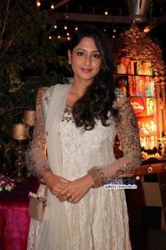 Anjum at success party of TV serial Balika Vadhu
