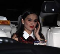 Anu Dewan at Abhishek Bachchan 38th birthday bash