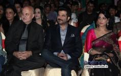Anupam Kher, Anil Kapoor and Mahi Gill at Gang Of Ghosts music launch