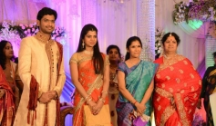 Anuradha Sriram at T Rajendar Daughter Ilakiya Wedding Reception