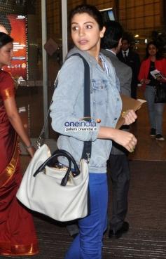 Anushka Sharma snapped at airport