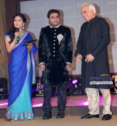 AR Rahman and Kapil Sibal at launch of album Raunaq