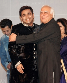 AR Rahman and Kapil Sibal's music album Raunaq launch