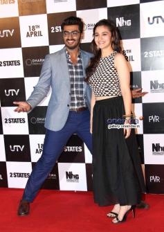 Arjun Kapoor and Alia Bhatt's film 2 States trailer launch