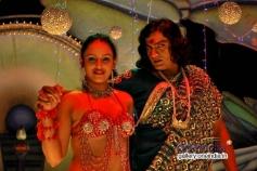 Ayesha and Ranjith in Kannada Film Nakara