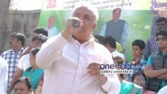 Bangalore In-Charge Minister Ram Linga Reddy at Dr. Vishnuvardhan Road Inauguration