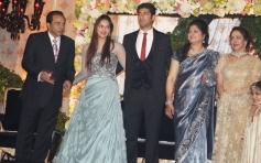 Ahana Deol's Dazzles At Her Wedding Reception In Delhi