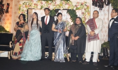 Ahana Deol's grand wedding reception in Delhi