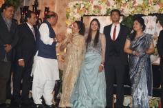 Political VIPs at Ahana Deol's Delhi reception