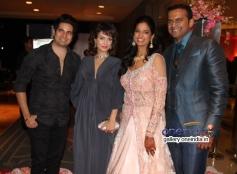 Celebs at Siddharth Kannan and Neha Agarwal wedding reception