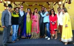 Celebs at Siddharth Kannan and Neha Agarwal wedding