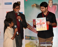 Big B and Parth Bhalerao at Bhoothnath Returns trailer launch