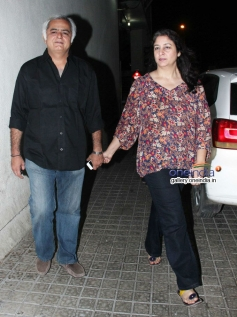 Celebs during the Highway special screening at PVR