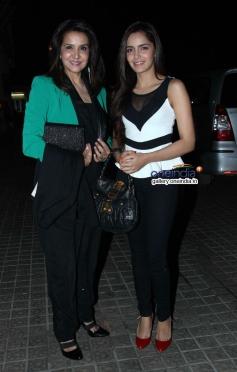 Shazahn Padamsee during the Highway special screening at PVR