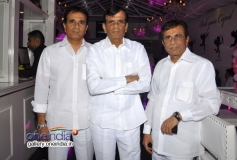 Celebs at first look launch of film Desi Magic