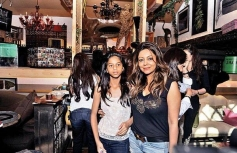Gauri Khan with daughter Suhana at her The Design Cell store launch