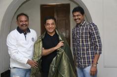 Celebs Greeting Kamal Hassan for Padma Bhushan Award