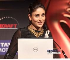 Kareena Kapoor addressing media at IIFA 2014 press conference