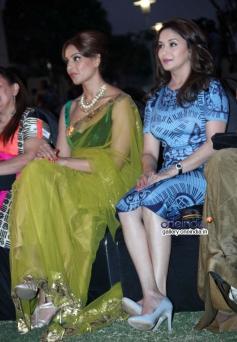 Bipasha Basu and Madhuri Dixit at IIFA 2014 press conference