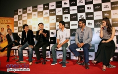 Celebs media interaction at 2 States trailer launch
