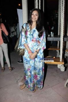 Maria Goretti at Nagesh Kukunoor's film Lakshmi success bash