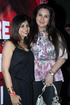 Poonam Dhillon at Nagesh Kukunoor's film Lakshmi success bash