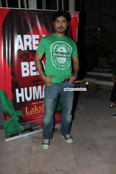 Vikas Bhalla at Nagesh Kukunoor's film Lakshmi success bash