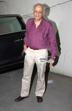 Mukesh Bhatt at Shaadi Ke Side Effects special screening