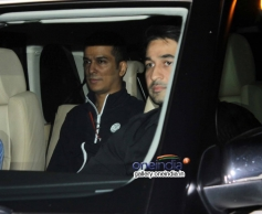 Celebs snapped at Mannat on SRK's party