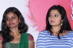 Celebs at Snehavin Kadhalargal film press meet