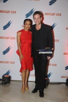 Suchitra Pillai with husband Lars Kjeldsen at Absolut Elyx Party