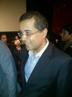 Chetan Bhagat at 2 States trailer launch