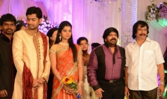 Chitra Laksmanan at T Rajendar Daughter Ilakiya Wedding Reception