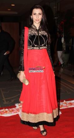 Claudia Ciesla at Siddharth Kannan wedding reception
