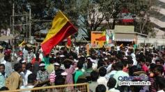 Crowd at the inauguration Event of Dr. Vishnuvardhan