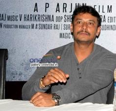 Darshan at Airavata Movie Press Meet