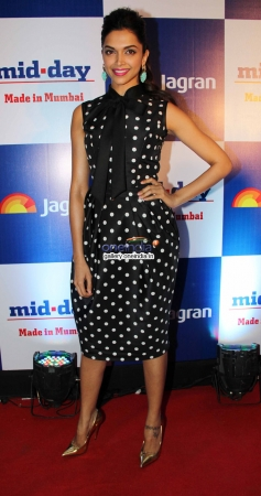 Deepika Padukone at Mid Day newspaper's relaunch party