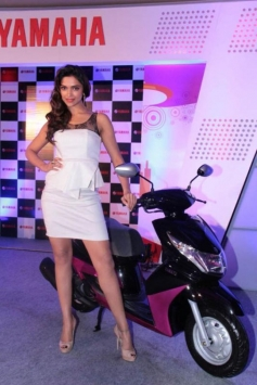 Deepika Padukone still on bike