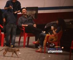 Karan Johar on the sets of R Balki's untitled film