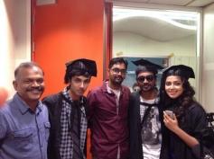 Dhanush, Amala Paul and Anirudh at Velai Illa Pattathari audio launch