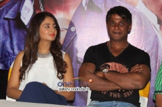 Duniya Vijay, Parul Yadav at Shivajinagara Movie Press Meet