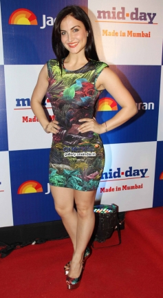 Elli Avram at Mid Day newspaper's relaunch party