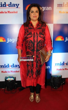 Farah Khan at Mid Day newspaper's relaunch party