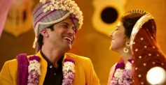 Farhan Akhtar and Vidya Balan still from film Shaadi Ke Side Effects