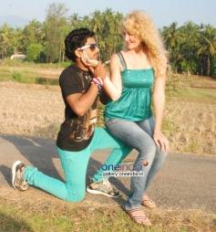 Farooq and Tanya in Kannada Movie 141 (I Love U)