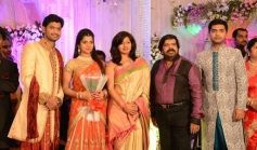 Gayatri Raghuram at T Rajendar Daughter Ilakiya Wedding Reception