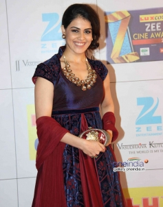 Genelia D'souza at Zee Cine Awards 2014