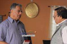 Girish Karnad, Mukhyamantri Chandru in Kannada Movie Savari 2