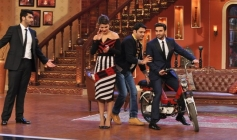 Gunday film promotion on the sets of Comedy Nights with Kapil