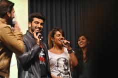 Gunday film promotions at Welingkar College